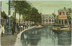PBK-10589 Het station van de Zuidhollandsche Electrische Spoorwegmaatsschappij voor de lijn van Rotterdam-Hofplein naar ...
