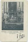 PBK-10726 Interieur van de Sint-Rosaliakerk aan de Leeuwenstraat.