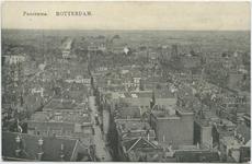 PBK-10733 Luchtopname van de Lange Torenstraat en omgeving vanaf de toren van de Grote of Sint-Laurenskerk.