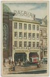 PBK-10915 Het kantoorgebouw van het Dagblad van Rotterdam aan de Wolfshoek.