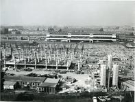 1971-1383 Bouw van het winkelcentrum Zuidplein.