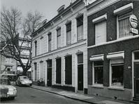 1974-1064 De gevel van het huis 'Eendragt maakt magt' aan de Waterloostraat.