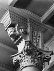 1976-1981 Interieur van het gebouw van de firma Hulstkamp aan de Maaskade.