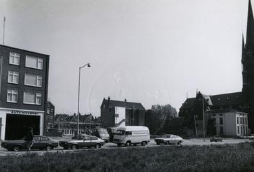 1978-1646 Het gesloopte deel aan de noordzijde aan de Goudse Rijweg, tussen de Generaal van der Heijdenstraat en Hugo ...