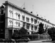 1978-2153 Kantoorpanden en woonhuizen nrs. 18, 16 en 14 (onder een dak) aan de Westerkade. Links hoek van de ...