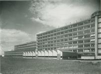 1978-3521 Gevel fabriek Van Nelle aan de sportveldzijde,Van Nelleweg nummer 1.