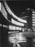 1978-3522 Kantoor en fabriekspand van Van Nelle bij avond, aan de Van Nelleweg nummer 1.