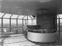 1978-3638 Tearoom op de bovenste verdieping van de fabriek van Van Nelle gebouw, aan de Van Nelleweg nummer 1.