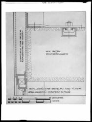 1978-3649 Technische tekening van een verdieping en doorsneden van het fabrieksgebouw van Van Nelle.