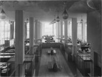 1978-3696 Overzicht begane grond van het kantoorgebouw van de Van Nellefabriek.