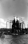 1979-263 Gezicht op graanelevatoren in de Nieuwe Maas.