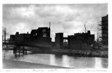 1979-268 Gezicht op de puinresten van de r.k. kerk aan het Boschje na het Duitse bombardement van 14 mei 1940. Als ...