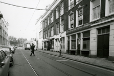1979-2782 Crooswijksestraat, uit het oosten. op de achtergrond de Zaagmolenbrug.
