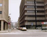 1981-1697-TM-1699 De Blaak.- 1697: Gezicht in de Zwartehondstraat. - 1698: Overzicht, vanaf busstation.- 1699: Op de ...