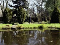 1981-1974 Arboretum Trompenburg aan de Honingerdijk.
