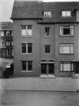 1982-506 Kortekade, hoek nabij de Kralingseweg. Links op de achtergrond het meisjeshuis.