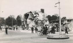 1983-169 Puinresten na het bombardement van 14 mei 1940. De Rederijstraat.