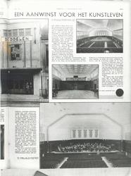 1983-2706-1,-2 Nieuwe muziekzaal van De Doelen aan de Coolsingel.Van boven naar beneden afgebeeld:- 1- 2