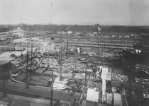1983-3538 Overzicht van de Sint-Jobshaven en de Parkhaven, uit westelijke richting.