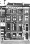1984-2398 Gezicht op het pand van het Rotterdamsch Nieuwsblad aan het Beursplein.