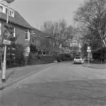 1984-799 Huize Siloam aan de Merulaweg op nummer 11 en lager. Linkerzijde de Vredehofweg.