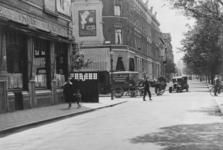 1985-1317 Gezicht op de oostzijde van de Heemraadssingel, in het midden de Nieuwe Binnenweg.