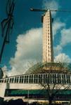 1985-2139 World Trade Center in aanbouw op het Beursplein.