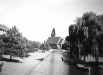 1985-593 Gezicht op de Statensingel in de richting van de Prinsenkerk.