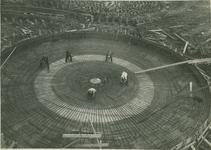 1986-151 Fundering schoorsteen van elektriciteitscentrale aan de Galileistraat.