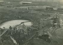 1986-152 Fundering schoorsteen van elektriciteitscentrale aan de Galileistraat.