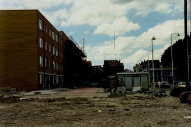 1986-2092 Woningen in de Rubroekstraat na renovatie, richting van de Zaagfolenburg.