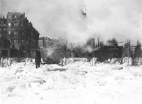 1986-2543 De Nieuwe Maas bedekt met ijsschotsen, bij het Bolwerk.