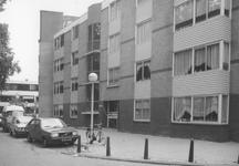 1986-414-EN-415 Gezichten op de Diergaardesingel.Afgebeeld van boven naar beneden:-414: nieuwe huizen nrs. 51 en 52, ...