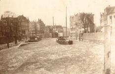 1986-589 Gezicht op de Aelbrechtskolk, vanaf de Piet Heynsbrug. Uit zuidelijke richting gezien.