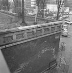 1986-787 De spoorbaan Rotterdam-Dordrecht tussen de stations Rotterdam-Zuid en het Rotterdam-Centraal, ter hoogte van ...