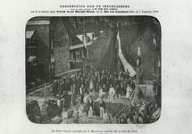 1986-877 Publikatie betreft de eerste steenlegging van de Nederlandse Gereformeerde Diaconie School aan de Jan van Loonslaan.