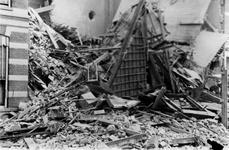 1987-757 Instorting van pand in de Teilingerstraat , na het bombardement van 14 mei 1940.