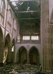 1988-1735 Interieur van de rooms-katholieke kerk, de Aller Heiligste Verlosser in de Goudse Rijweg. Uitzicht op de ...