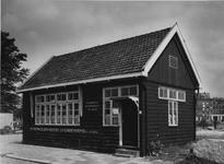 1989-2062 De afdeling Detail in een houten kantoorgebouw van de Steenkolen Handelsvereeniging aan de Spoorwegstraat.