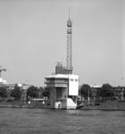 1989-3052 Radarpost aan de Maasboulevard.