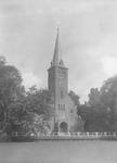 1989-3072 Gezicht op de Schiedamsesingel, met op de voorgrond de Waalse kerk.