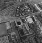 1989-3982 Overzicht van een deel van de wijk Dijkzigt met Museum Boijmans- van Beuningen aan de Mathenesserlaan.