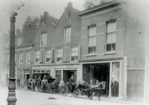 1990-219 Hoef- en rijtuigsmederij van W.H. de Meijer aan de Baan.