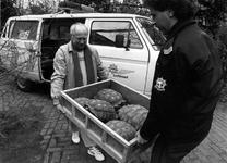 1991-2096 De luchthavenpolitie van Schiphol heeft bij een controle veertig schildpadden in beslag genomen en levert ...