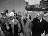 1991-2177 Werkbezoek CDA. Een delegatie van CDA-kamerleden onderleiding van fractievoorzitter Elco Brinkman, brengt een ...