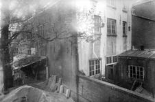 1991-3086-TM-3090 Bouw van de Waalse kerk aan de Boshoek.- 3086: Bouwterrein.- 3087: Bouwterrein.- 3088: Eerste steen.- ...