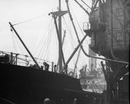 1991-870 Graan laden bij de Sint-Jobshaven.