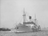1991-880 De Nieuwe Maas.Aankomst van stoomschip Gudur.