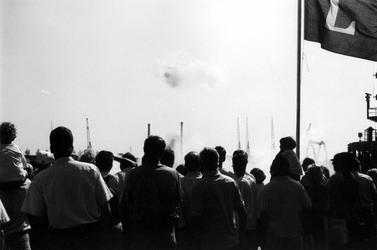1992-171 Open Havendagen, Impressie van de aktiviteiten die aan de Boompjes plaatsvinden.