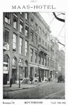 1992-4516 Het Maashotel aan de Boompjes.